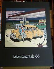 TED BENOIT Départemental 66 Sérigraphie éditions ANAGRAPHIS 190ex signés