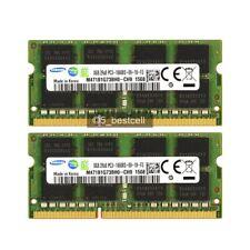 16GB 2X8GB PC3-10600 DDR3-1333Mhz 204Pin 1.5V Non-ECC Sodimm Laptop RAM Memory