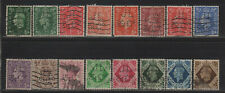 Gb Kgvi Perfin Jl/&Co Collection of Different Design Faces/All Diff Stamps