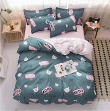 3D Süßes Kätzchen NAM93618 Bett Kissenbezüge Decke Bettdecke Abdeckung Set Fay