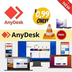 Fast Remote Desktop Software For Windows +free KM player & VLC player