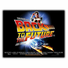 BACK TO THE FUTURE METAL SIGN WALL PLAQUE Film Movie Advert poster print mancave
