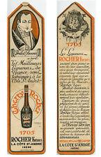 Marque Pages Publicitaire Liqueur Cherry Rocher - Rocher Frères