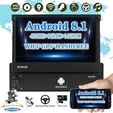 7 '' GPS Navi Wifi Bluetooth Autoradio Android 1Din Touch Screen MP5 Pieghevole