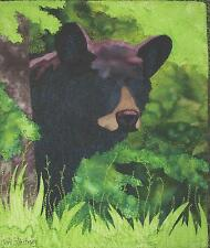 Backdoor Bear applique quilt pattern by Toni Whitney Design