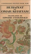 Rubaiyat of Omar Khayyam - Edward Fitzgerald - Doubleday Dolphin Book  SC Poetry