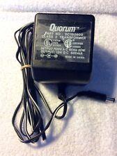 Original Quorum DC150800 AC Adapter 15V Power Supply