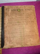1894 Partial Antique Atlas Us State Maps Etc-Keller Phila-Easy Framing $-View!