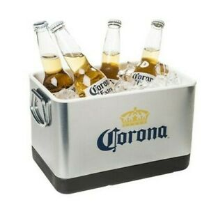Corona Stainless Steel MINI Cooler Ice Bucket ~ NEW in Original Sealed Box