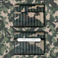 Army Green Camouflage Earphone Case Cover For Apple Airpods Pro 1 & 2 Generation