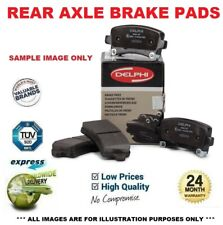 Rear Axle BRAKE PADS SET for VAUXHALL CORSA Mk IV 1.4 2015->on