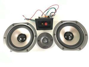 """Polk Audio CS10 Center Channel Speaker 2 Replacement 5.25"""" Woofers & 1"""" Tweeter"""