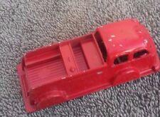 """Vintage Red Tootsie Toy """"truck- Chicago U.S.A."""