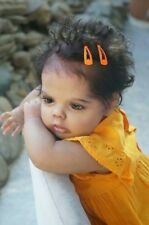 22''finished  Full Body Silicone Reborn Baby Life Girl Newborn Doll Toys Gifts