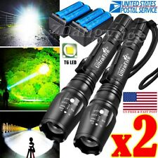 350000LM Rechargeable  LED High Power Torch Flashlight Lights Lamp & Charger