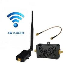 Professional 2.4GHZ4W Wifi Wireless Broadband Amplifier Router Signal Booster BT