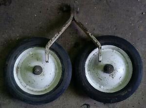 Roto Tiller Wheel Set 10 x 1.75 Front Tine Hahn Ariens Gravely
