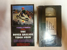 BONES BRIGADE / POWELL VHS VIDEOS, 2pcs set CLASSIC COLLECTION from 80's and 90'
