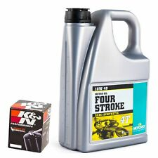 K&N Oil Filter & Motorex 10W40 Oil Kit For Triumph 2000 Sprint ST (955) KN-191