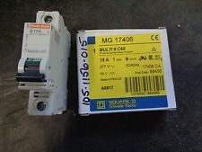 Square D C60 Circuit Breaker 277V A-C Mg17406 15A