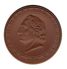 DDR - Johann Wolfgang von Goethe - WOHNHAUS - PORZELLAN - ANSEHEN (12841/933N)