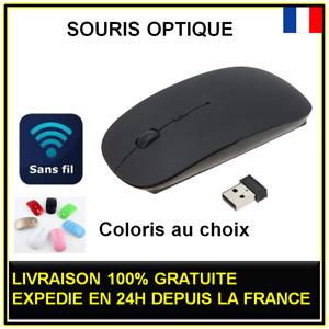 Souris Optique Sans Fil USB PC Ordinateur Portable pour DELL FUJITSU TOSHIBA