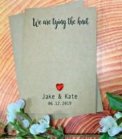 Personalised Vintage Wedding Invitations Day Evening Photo Save the Date FDWI31b