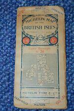 MICHELIN ROAD MAP BRITISH ISLES NO. 20, 1914-18, MICHELIN TIRE COMPANY
