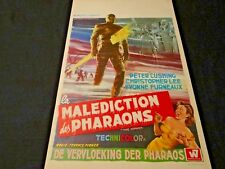 LA MALEDICTION DES PHARAONS the mummy affiche  affiche cinema 1959 hammer