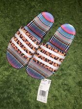 """Adidas """"BRAZILIAN DANCE"""" Women's ADILETTE SLIDE Sandals Slippers Slip-On Size 8"""