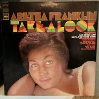 "ARETHA FRANKLIN - Take A Look (CBS 10589) - 12"" Vinyl Record LP - EX"