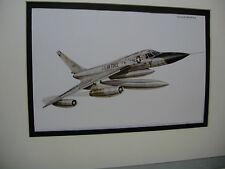 Convair B 58 Hustler Airplane Box Top Art Color Museum Archives by artist