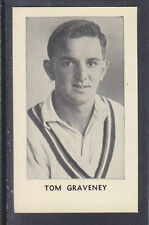 Thomson - The World's Best Cricketers 1958 - # 2 Tom Graveney - Gloucestershire