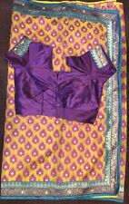 Bollywood Indian Pakistani Ethnic Party Wear Saree Sari with blouse