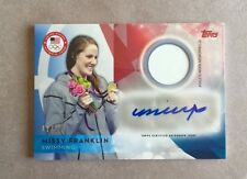 2016 Topps Olympic Missy Franklin Relic Auto!!! 41/50!!!