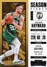 Gordon Hayward 2017-18 PANINI CONTENDERS Basketball cartes à collectionner, #6