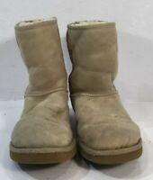 UGG Australia Women's Classic Short Ankle Boots Suede  5825 Size:8w