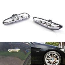 2X BMW LED White Side Marker Lights Turn Signal E82 E88 E60-61 E90-93 Brightness