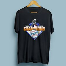Los Angeles Dodgers 2020 World Series Champions League MLB Unisex T-Shirt S-3XL