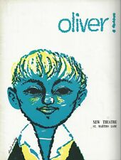 "Lionel Bart ""OLIVER!"" Aubrey Woods / Davy Jones (""Monkees"") 1963 London Program"