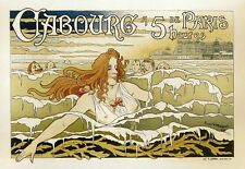 Repro Art Nouveau Style Advertising Print 'Cabourg' 1896