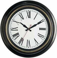 Bernhard Products Large Wall Clock 18 Inch Quality Quartz Extra Large - 18 Inch