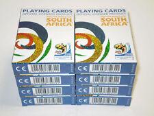 8 x Cartamundi Spielkarten SET Poker,Skat 2010 FIFA World Cup South Africa™ NEU