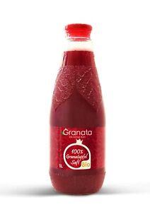 Bio Granatapfelsaft 6 Flaschen (á 1 Liter), DE-ÖKO-001, Granatapfel