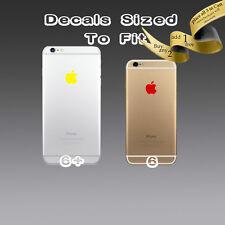 ( 4x ) Apple Logo Sticker Decal Vinyl for iPhone 6s 6s+ 6 6+ 6 plus 7 7plus