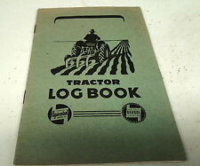 1950s CASTROL Oil Co. TRACTOR LOGBOOK  - NOS
