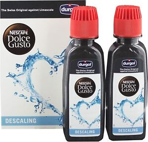 Genuine Official Nescafe Dolce Gusto Descaler Descaling Kit Durgol 1 Box Express