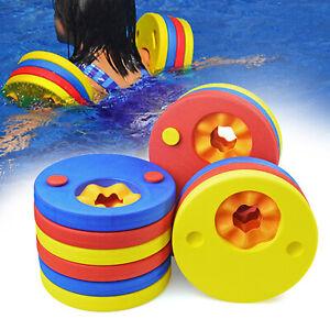 Adjustable Children Baby Toddler Swimming Arm Bands Arm Floats Detachable UK