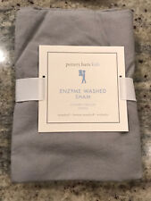 Pottery Barn Kids Washed Enzyme Standard Sham in Gray New