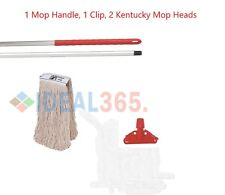 Red Kentucky Mop Set Complete with Extra Mop Head